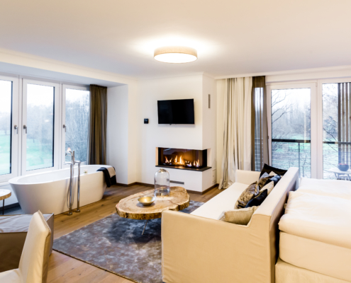 Landhotel Voshövel, Baustelle Bocholt, WdeR Fußbodenstudio, Referenzen
