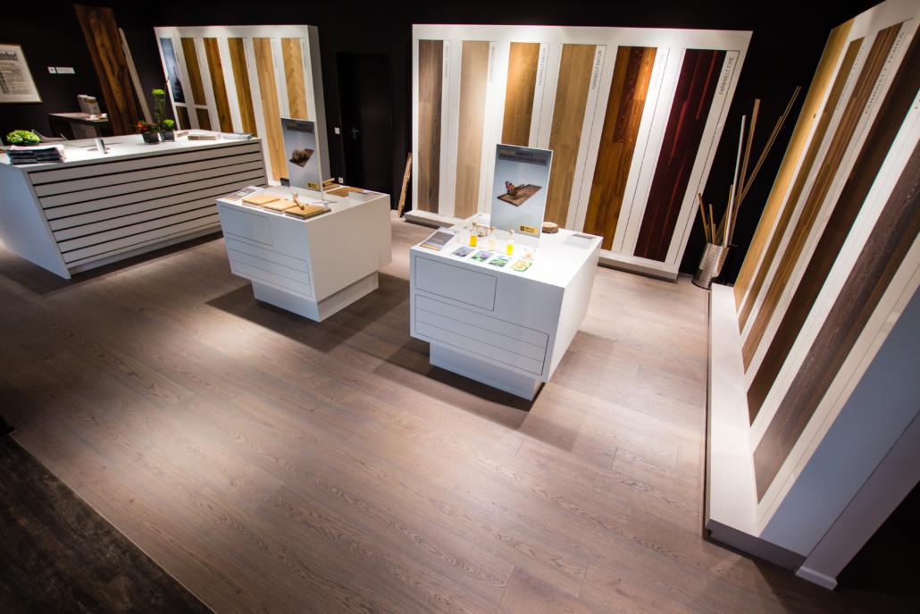 WdeR Fussbodenstudio bocholt, Showroom, Parkettboden, Teppiche,